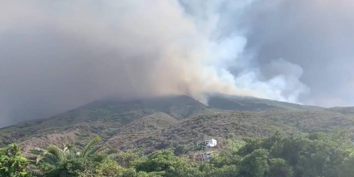 Brasileiro sobrevive a erupção de vulcão na Itália