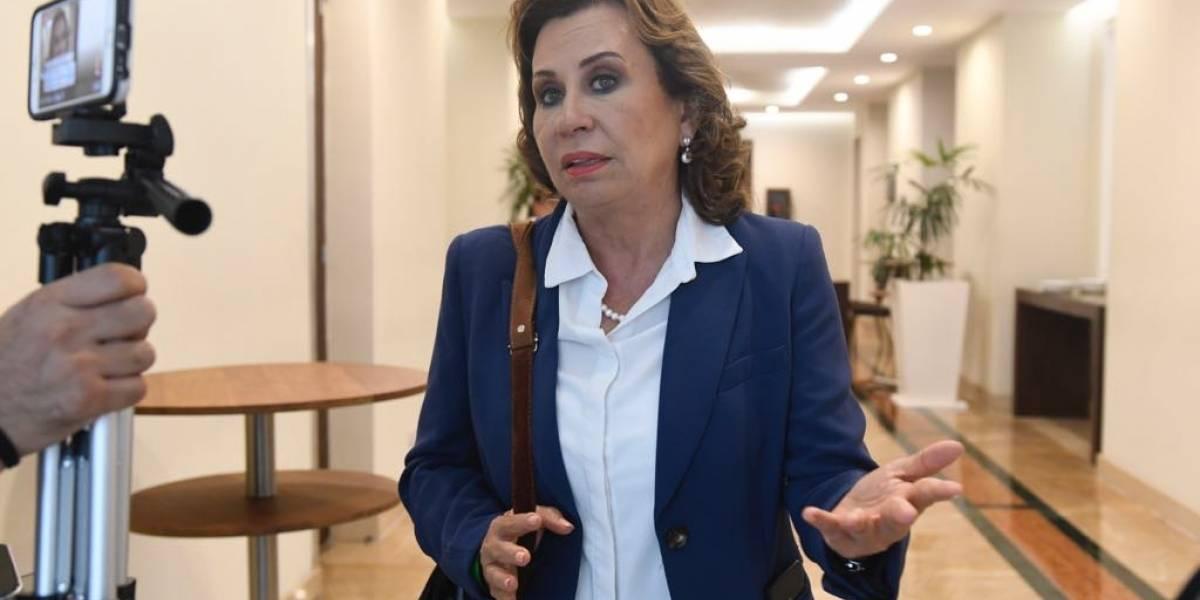 VIDEO. Sandra Torres analizará si existe acción penal contra Jimmy Morales por compra de aviones