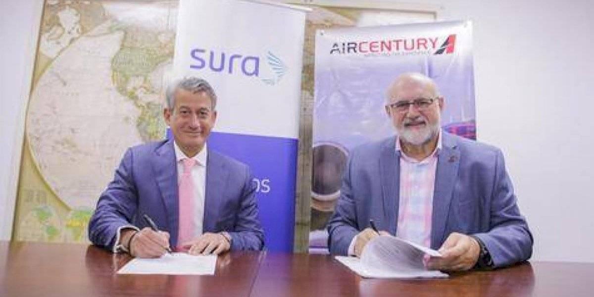 Air Century y Seguros SURA realizan alianza comercial