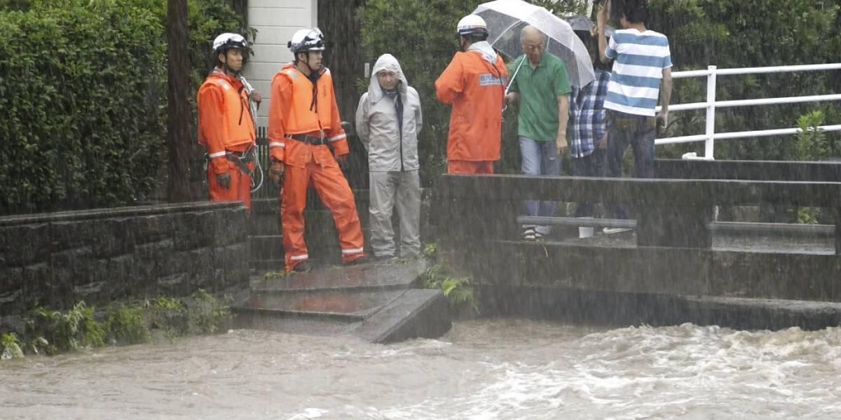 Japón ordena evacuar a más de 1 millón de personas por fuertes lluvias