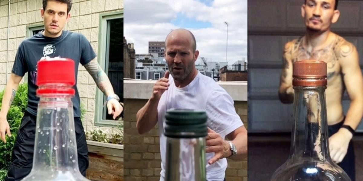 Bottle Cap Challenge: el reto viral de artes marciales que reventó internet