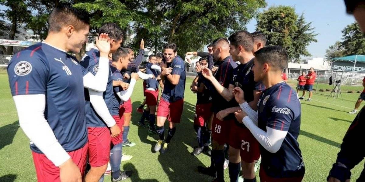 Se integra Antonio Briseño al plantel de Chivas