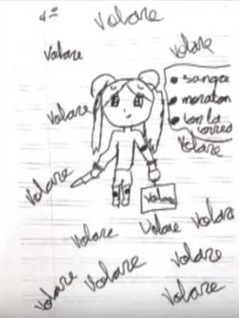 dibujo niña maltratada