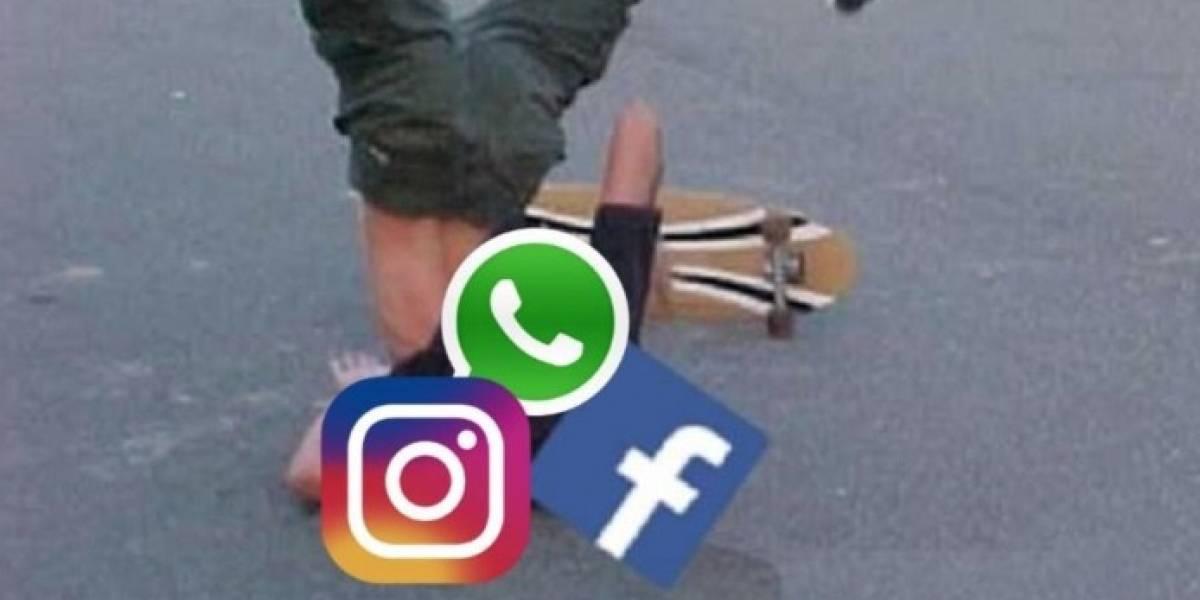 La vieja confiable: usuarios reportan caída de WhatsApp, Facebook e Instagram y Twitter se llena de memes