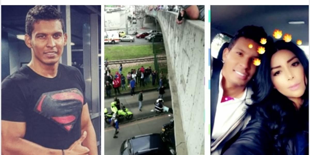 Exnovia de Nario Gómez habla de la obsesión del actor que lo llevó a lanzarse de un puente