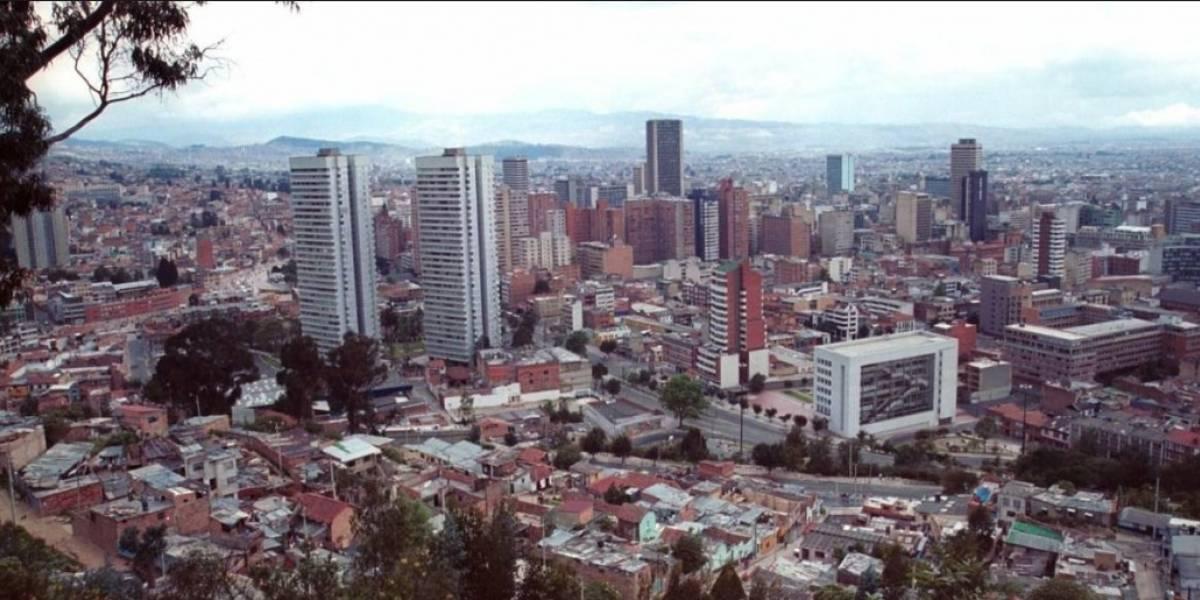 Impresionante foto refleja cómo bajó la contaminación en el paro de taxistas, en Bogotá