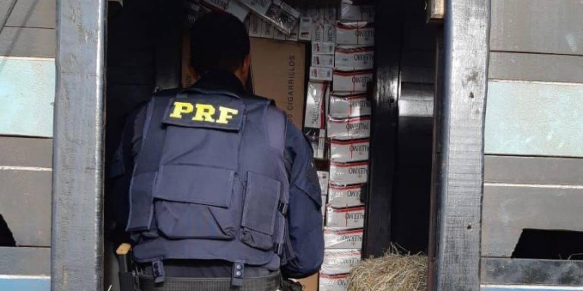 Operação apreende 120 mil carteiras de cigarros contrabandeados no Paraná