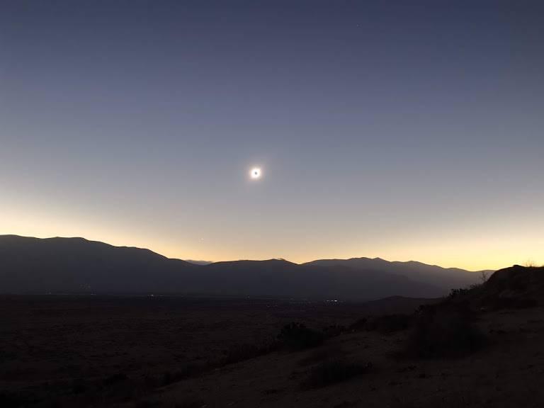 Eclipse solar: una imagen diferente del evento astronómico del año