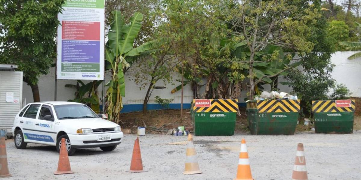Ecopontos de Santo André terão quatro vezes mais capacidade em 2020