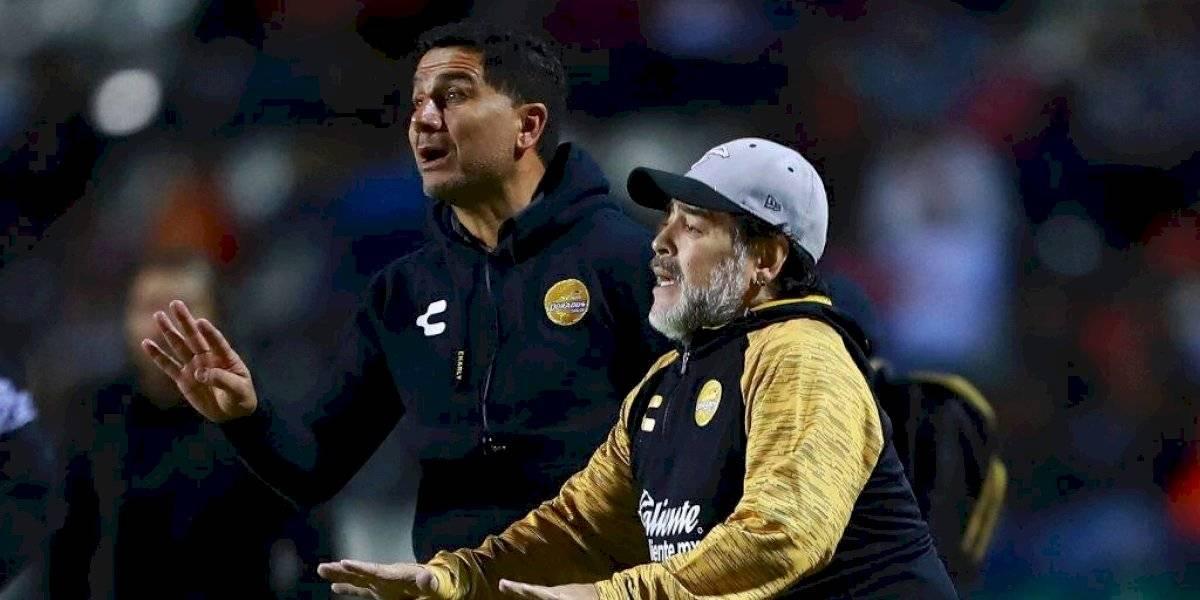 Ex asistente de Diego Maradona asumió como DT en San Luis de Quillota
