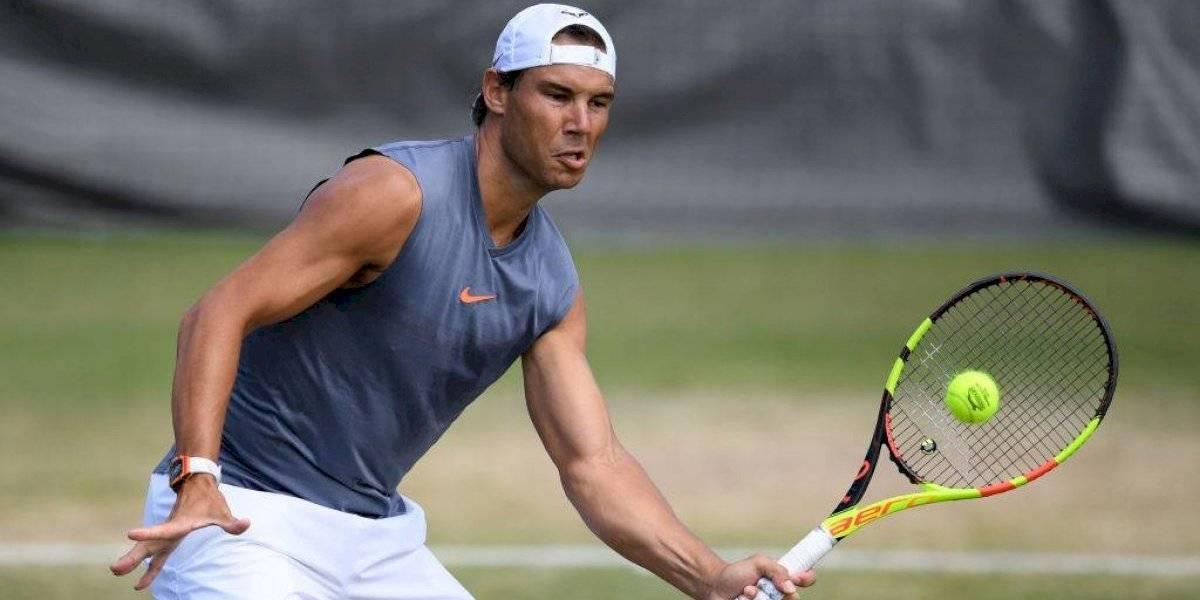 Rafael Nadal utilizó el buen saque de Nicolás Jarry para preparar su próximo desafío en Wimbledon