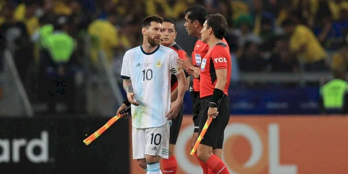 El irónico mensaje de la AFA contra el VAR y el arbitraje tras la derrota ante Brasil en Copa América
