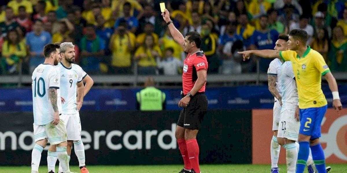 ¿Están locos? Prensa argentina pide que se repita el partido con Brasil por problemas del VAR