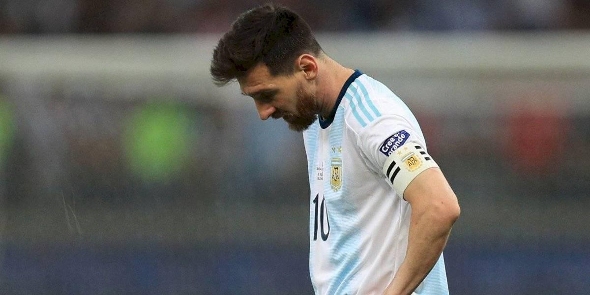 'Brasil maneja mucho en la Conmebol': Messi tras caer en la Copa América