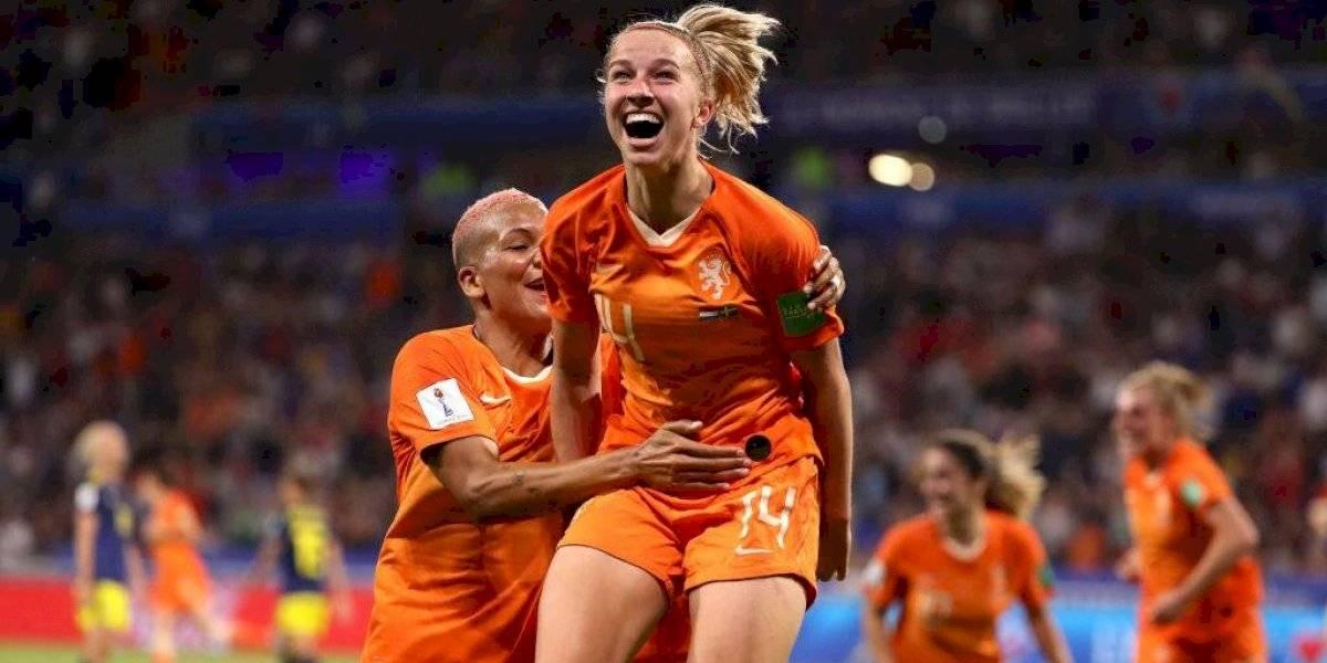 Holanda llega por primera vez a la final del Mundial femenino y enfrentará a la toda poderosa Estados Unidos