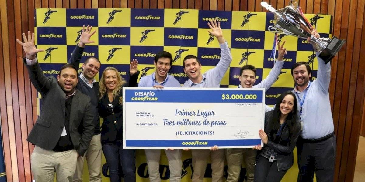 Éxito total de convocatoria al primer Desafío Goodyear en Chile