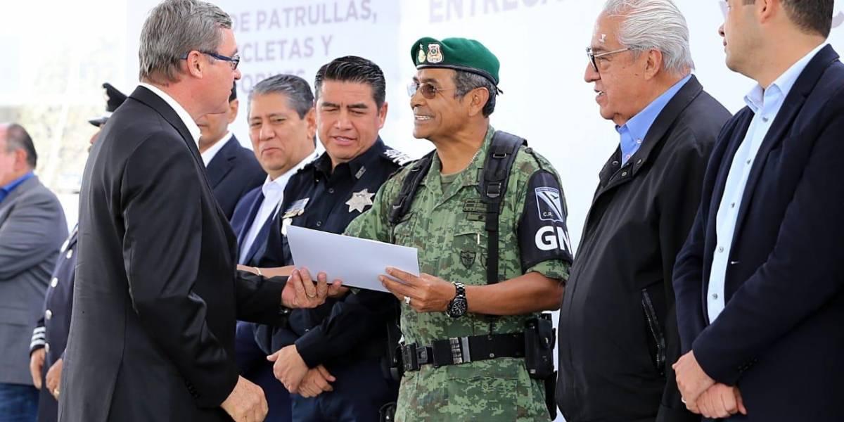Dan voto de confianza a Guardia Nacional en Puebla