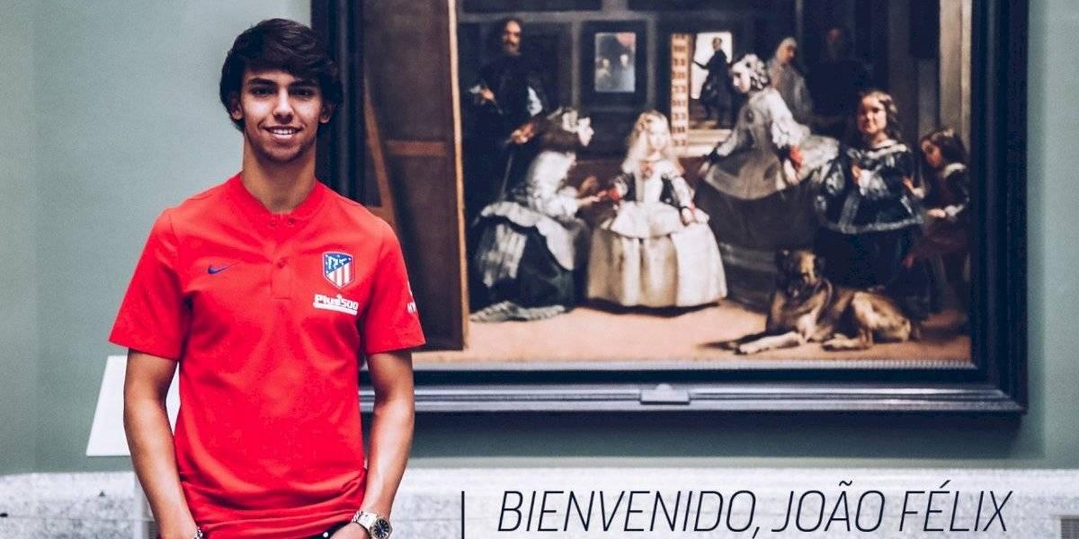 Joao Félix ficha con el Atlético de Madrid por 126 mde