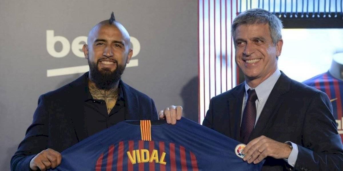 Vicepresidente del Barcelona presenta su renuncia irrevocable