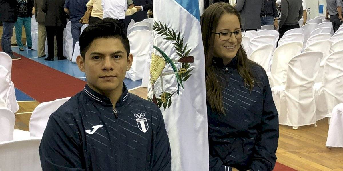 Jorge Vega es el abanderado para los Juegos Panamericanos de Lima