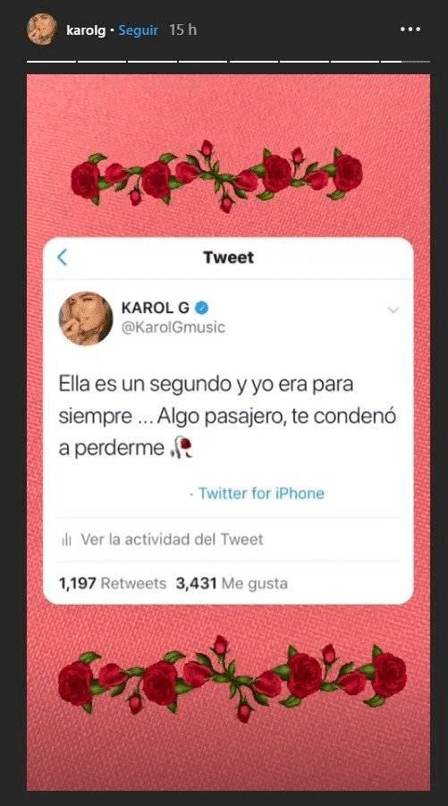 Karol G Termina Con Anuel Aa Por Infidelidad Foto Lo