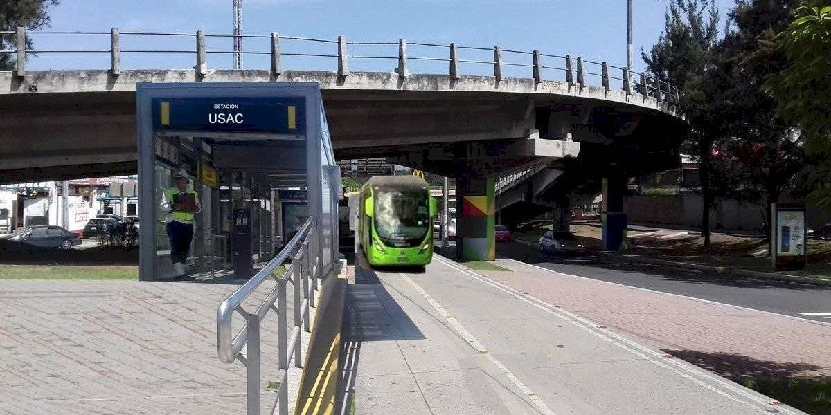 Nueva línea del Transmetro iniciará a funcionar en septiembre