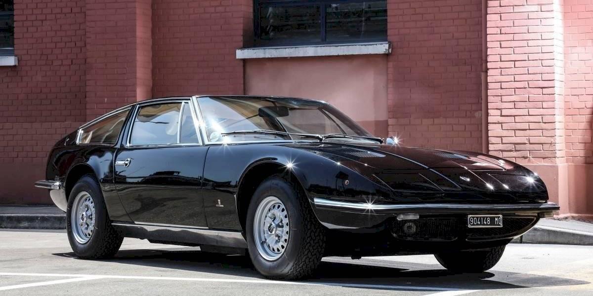 Maserati celebra los 50 años de vida de su primer coupé, el Indy