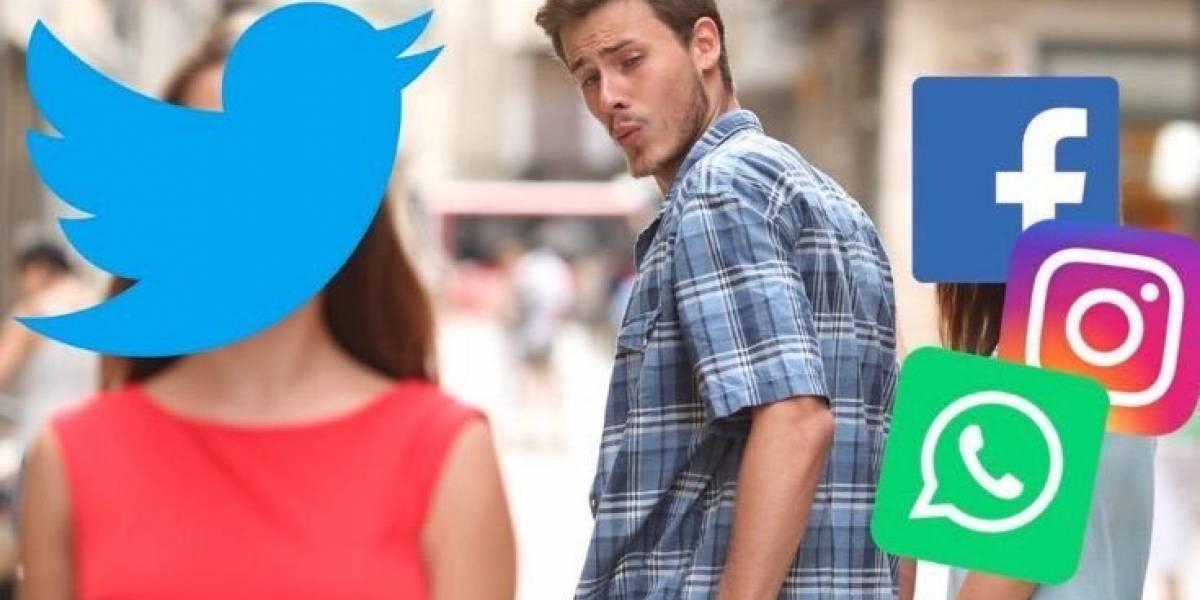 Llegaron los memes de las fallas en WhatsApp, Instagram y Facebook