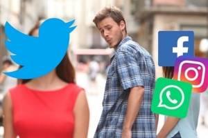memes de la caída de Facebook, Instagram y WhatsApp