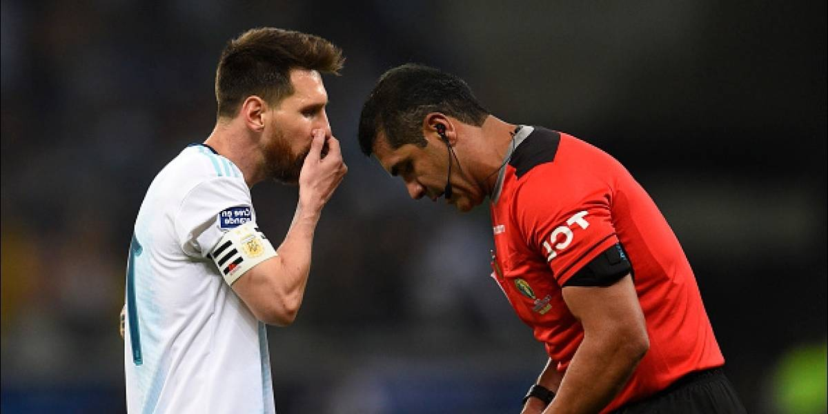Copa América: Messi criticó el arbitraje del ecuatoriano Roddy Zambrano
