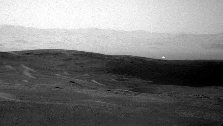 NASA Marte Luz