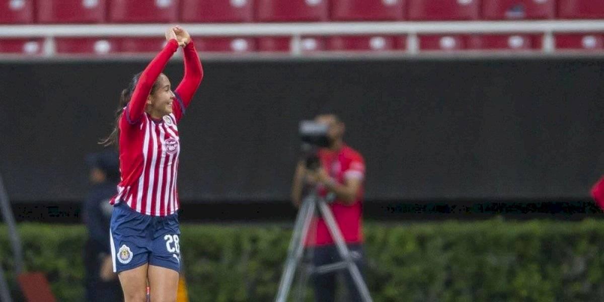 Nicole Pérez ve a Chivas femenil más fuerte