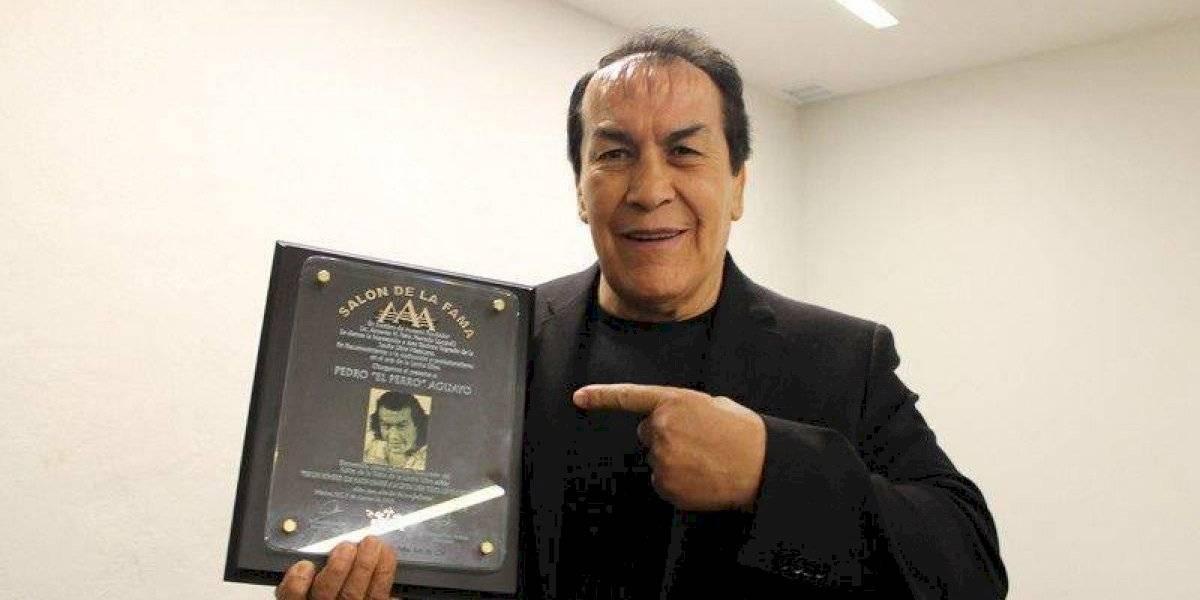 Fallece el luchador Perro Aguayo