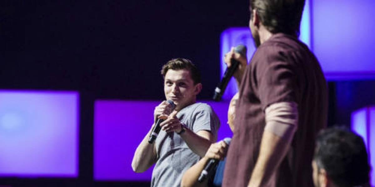 """Tom Holland y Jake Gyllenhaal: """"Nos divertimos mucho filmando Spider-Man"""""""