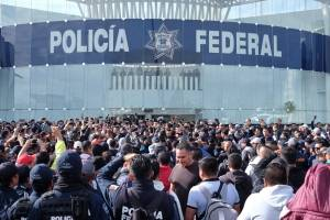 Protesta Policía Federal