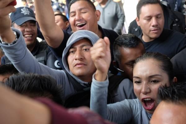 Resultado de imagen para PROTESTAS DE FEDERALES EN MEXICO