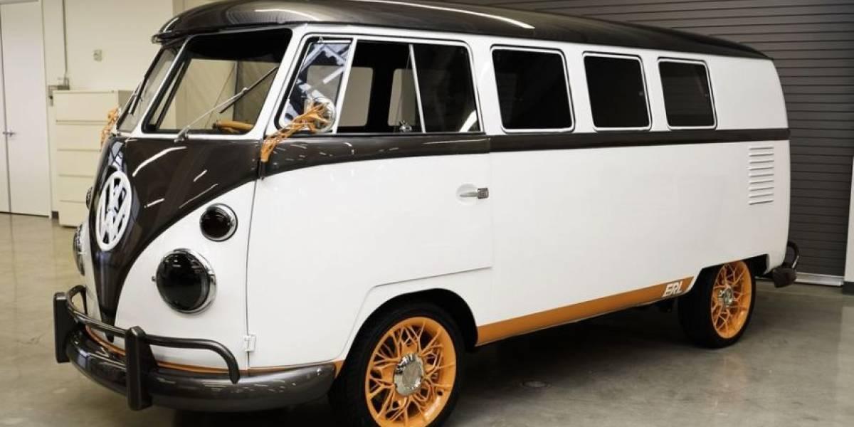 Volkswagen revive la mítica Kombi en un modelo eléctrico