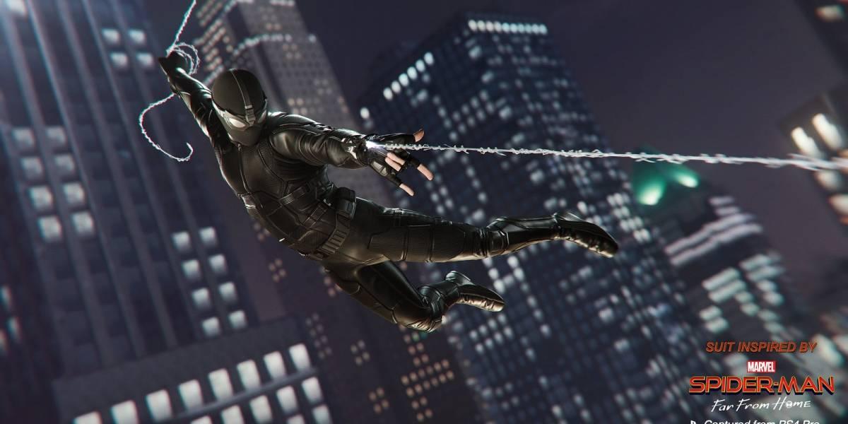 Marvel's Spider-man para PS4 terá trajes de 'Homem-Aranha: Longe de Casa'