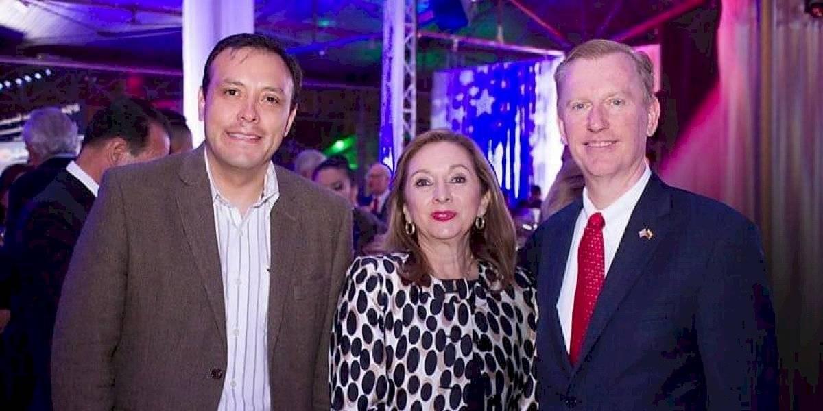 Nuevo embajador de Estados Unidos presidió la celebración del 4 de julio en Ecuador