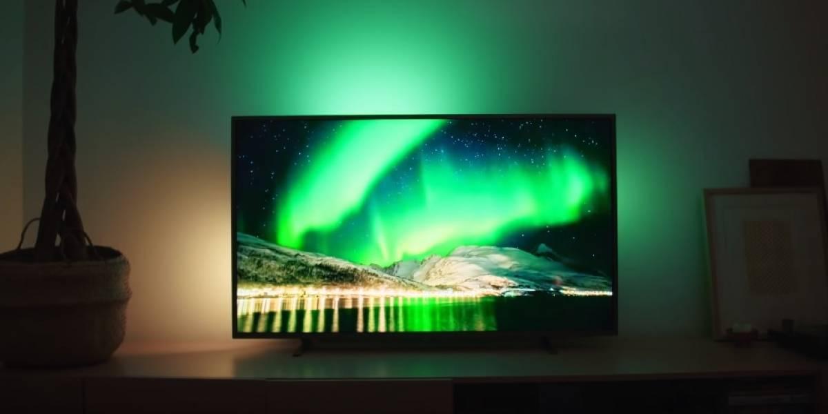 Nuevos televisores amplifican la inmersión con un sistema de luces LED