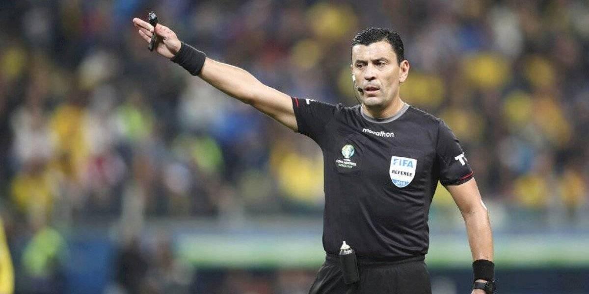 Roberto Tobar fue designado para dirigir la final de Copa Libertadores entre River Plate y Flamengo
