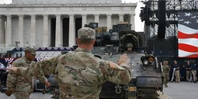 Preparativos para el desfile militar de Donald Trump
