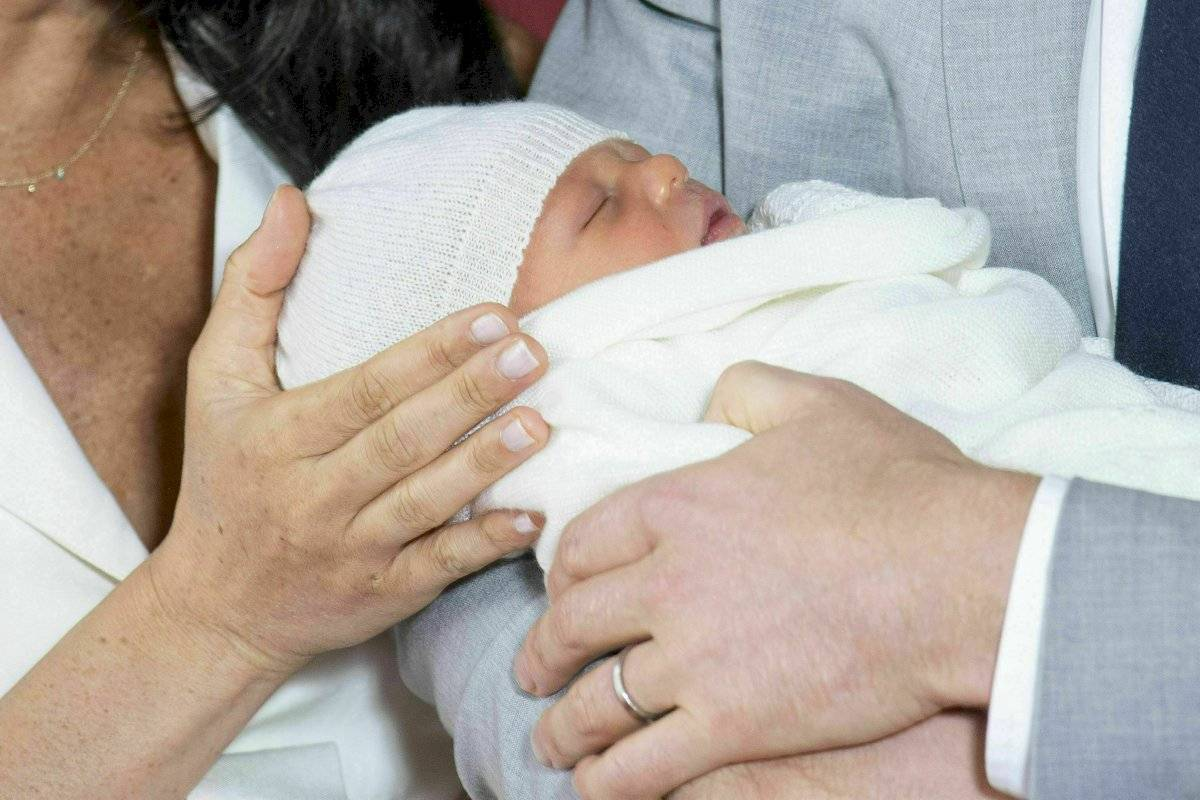 Archie, hijo de Meghan Markle AP