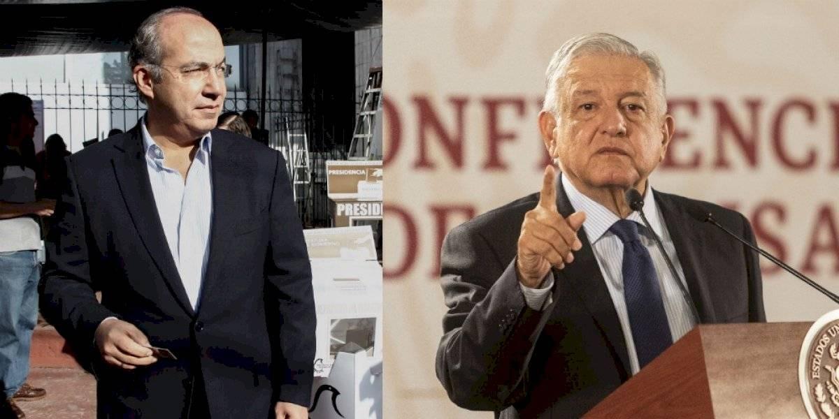 #PolíticaConfidencial Felipe Calderón y AMLO de nuevo atraen los reflectores