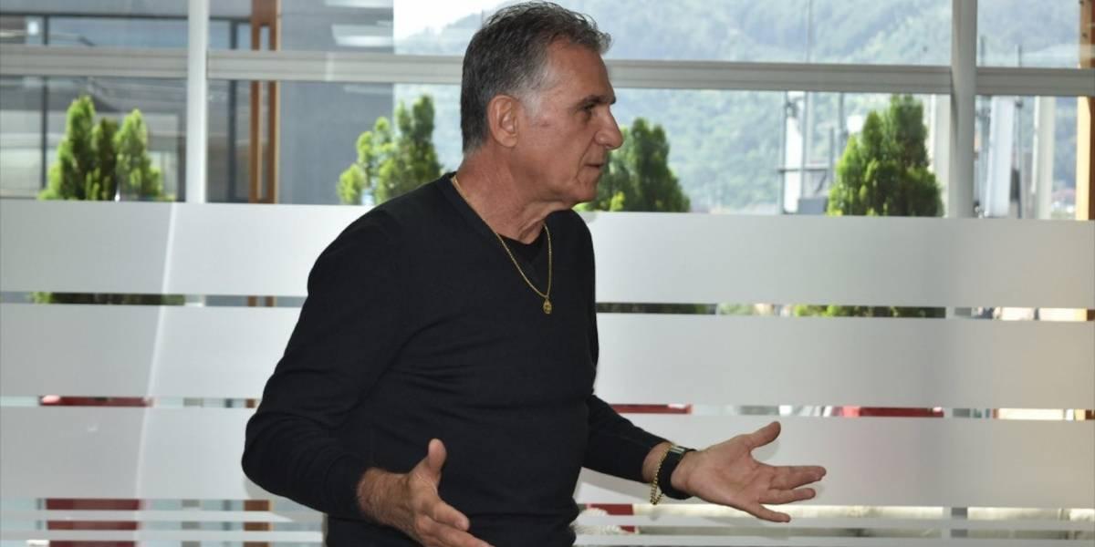 Llueven críticas contra Carlos Queiroz por lo que hizo hoy en la sede de la Federación