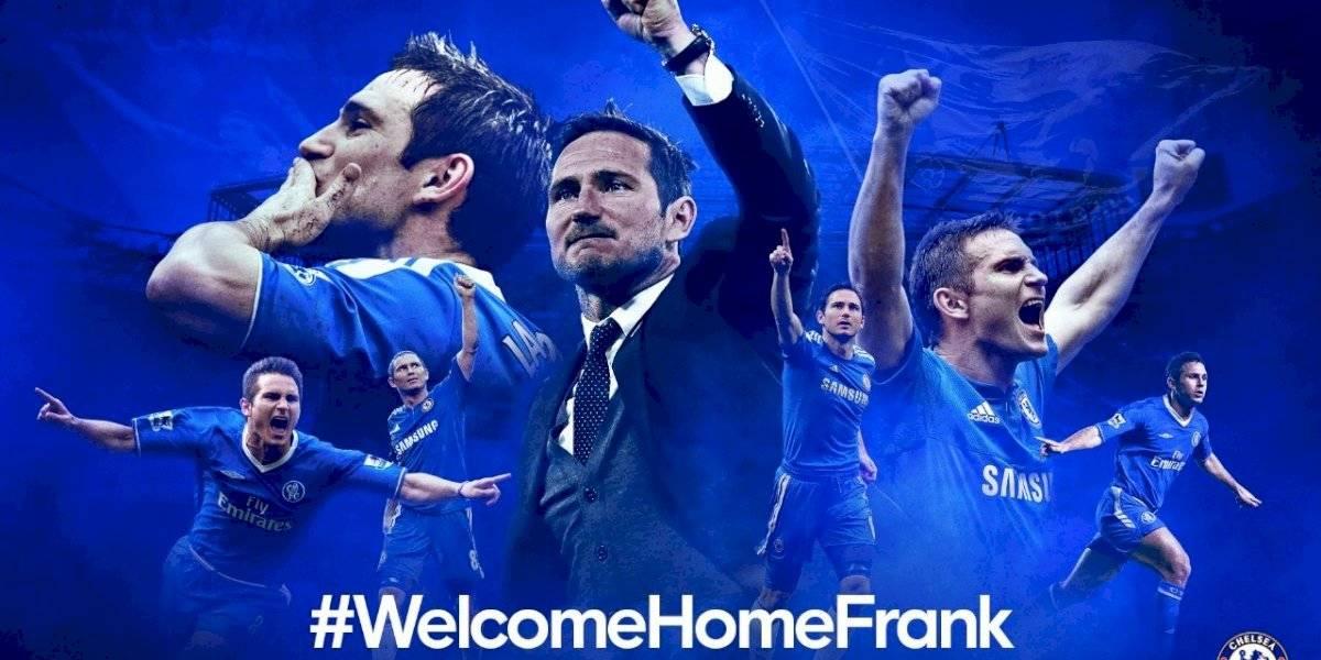 Chelsea oficializó la contratación de Frank Lampard como su nuevo entrenador
