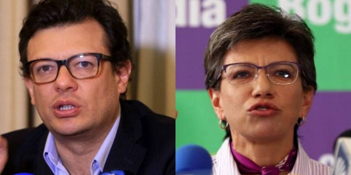 Claudia López bajó a Hollman Morris de la coalición alternativa por la alcaldía