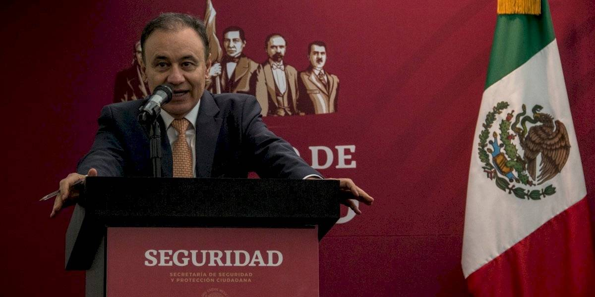 Confirma Alfonso Durazo extinción de la Policía Federal