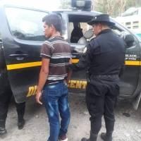 capturado con Q100 mil en Huehuetenango