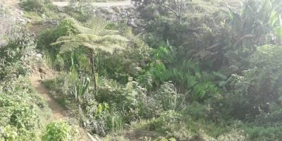 evaluación en Chajul, Quiché, por grietas en viviendas